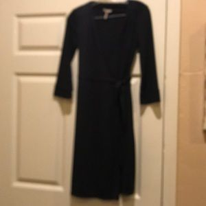 Old navy faux wrap dress. Cute and comfortable